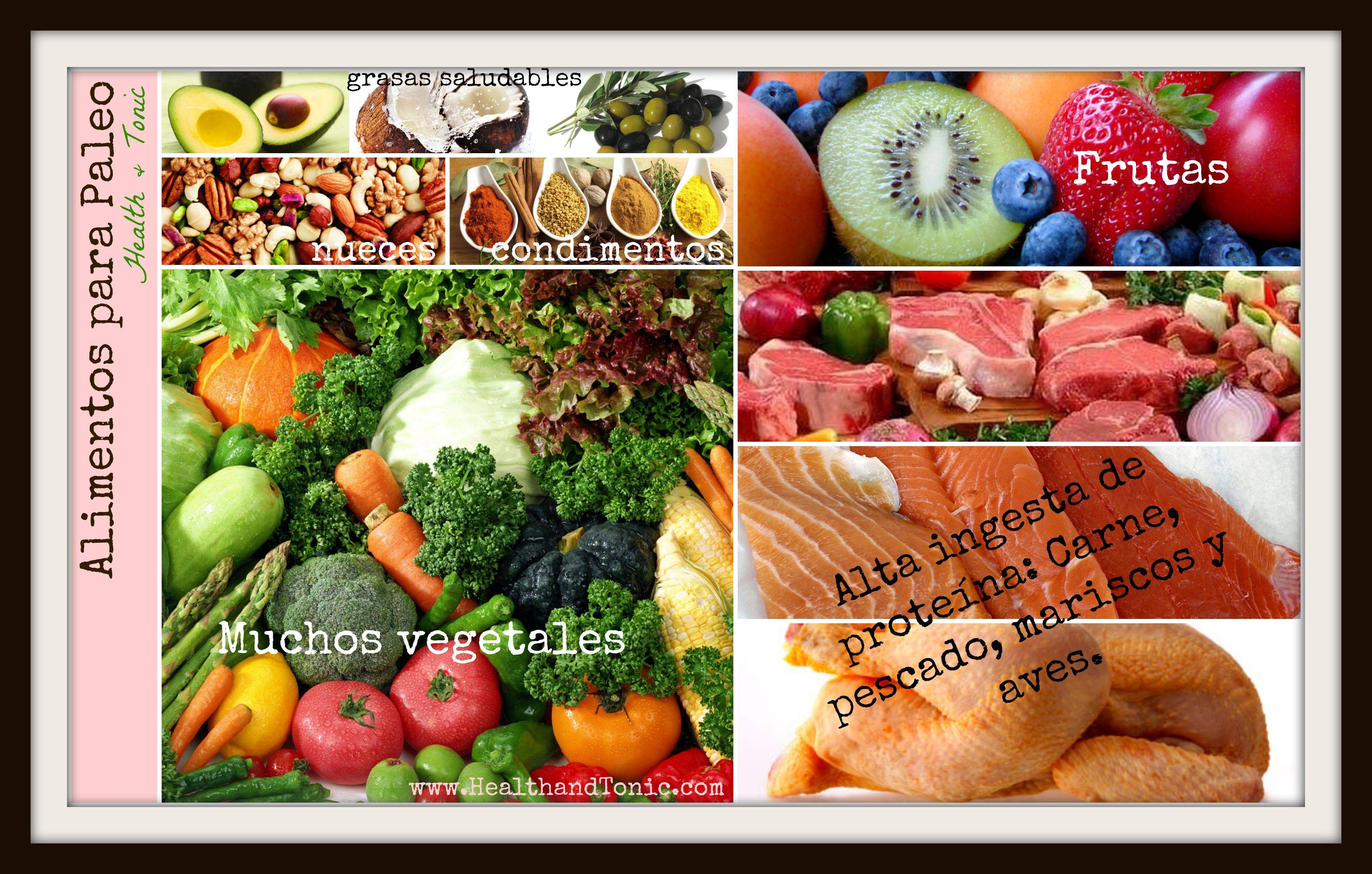 Alimentos De La Dieta Paleo Vivir Con Lupus Blog