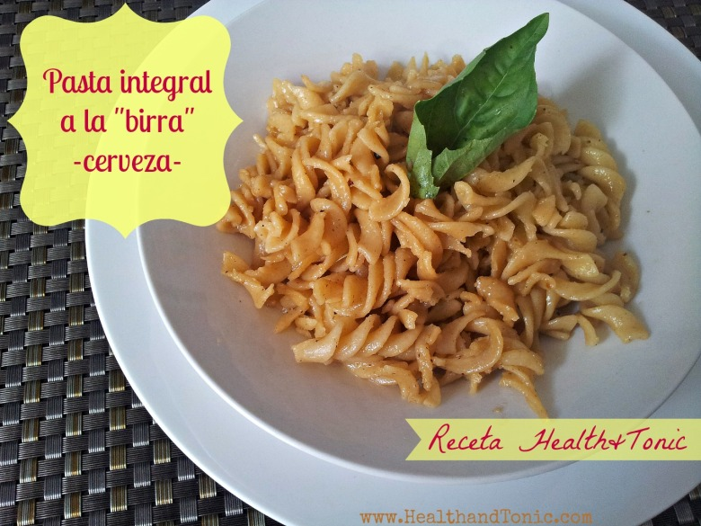 Pasta for beer lovers!