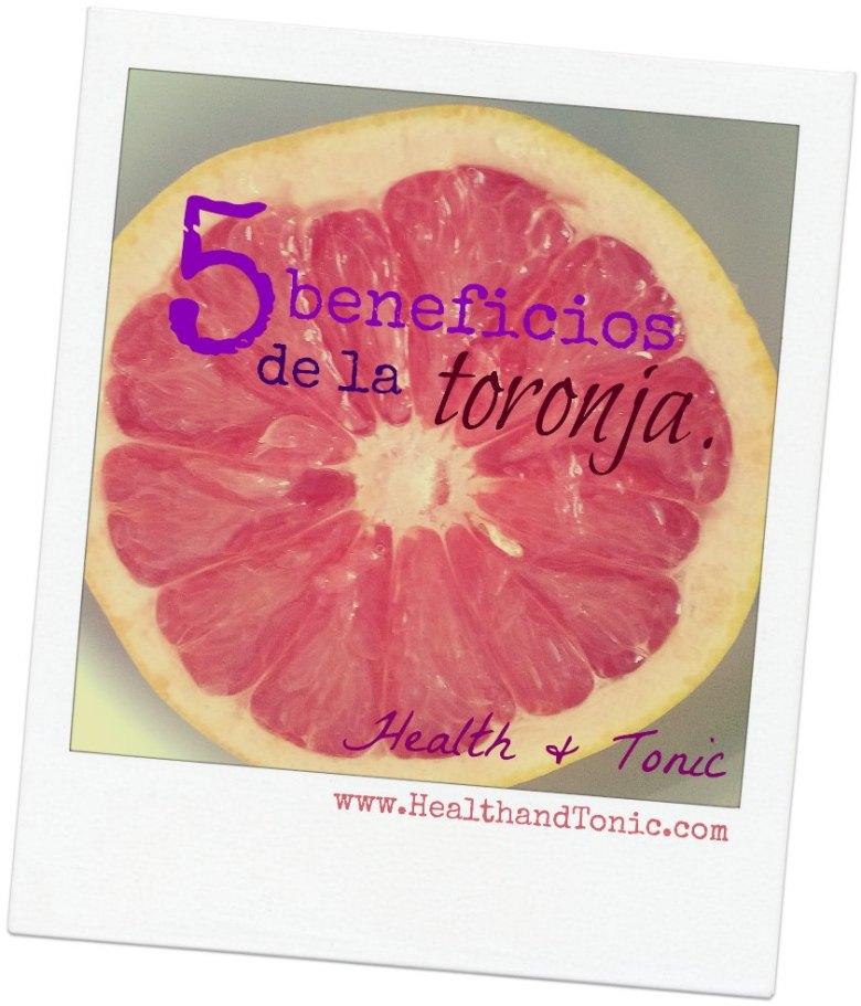 5 razones para incluir la toronja en tu alimentación
