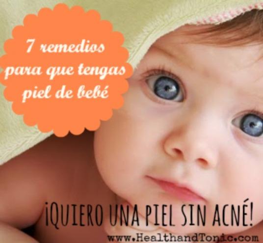 piel de bebé