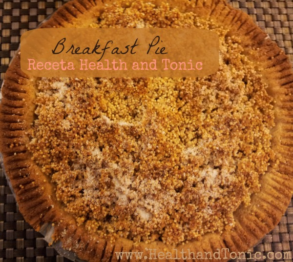 Receta: Breakfast Pie-