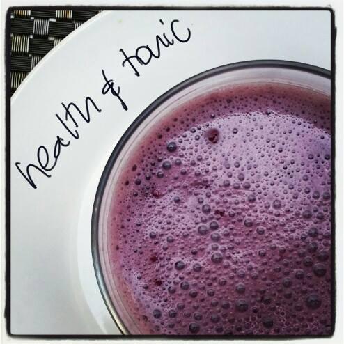 Purple smoothie.