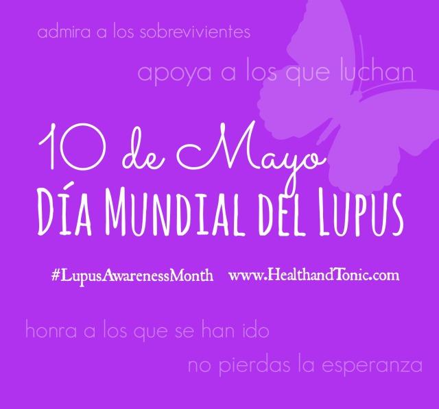 Día Mundial de la Lucha Contra el Lupus