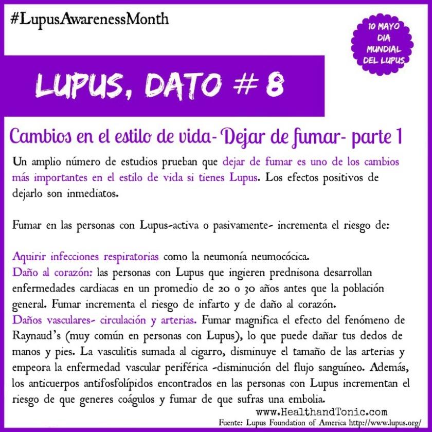 #Lupus: Cambios en el estilo de vida- Dejar de Fumar parte 1