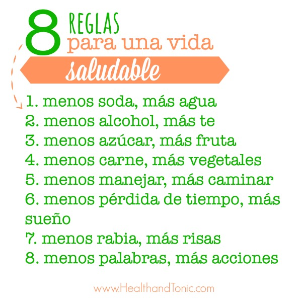 8Reglasvidasaludable