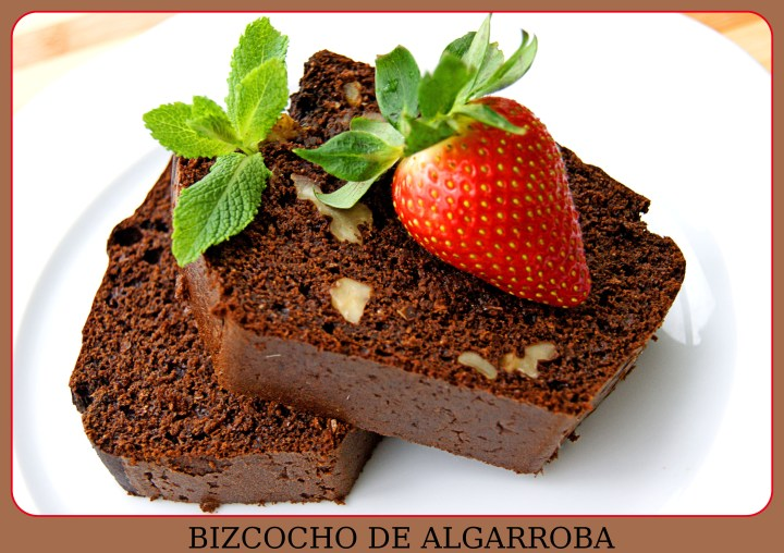 BIZCOCHO DE ALGARROBA